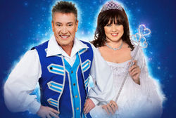 BILLY PEARCE AND COLEEN NOLAN STAR IN THIS YEAR'S ALHAMBRA THEATRE PANTOMIME CINDERELLA - THE FAIRY GODMOTHER OF ALL PANTOMIMES!