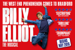 The Multi Award-Winning Smash Hit Billy Elliot the Musical to play at The Alhambra Theatre Bradford