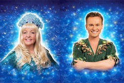 SOAP STAR CHARLIE HARDWICK & S CLUB 7 FAVOURITE JON LEE SET SAIL FOR NEVERLAND IN PETER PAN!