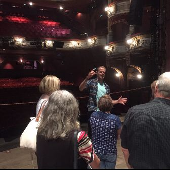 Wicked – Backstage Tour – the Company Manager explains how the set works