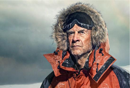 Sir Ranulph Fiennes Living dangerously