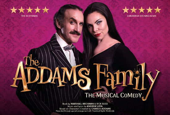 The Addams Family the Musical Comedy