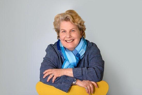 Comedian Sandi Toksvig