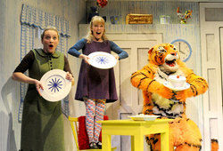 Classic Children's Picturebook The Tiger Who Came To Tea Springs to Life on the Stage at St George's Hall