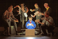 National Theatre's award-winning production of The Curious Incident of the Dog in the Night-Time returns to Bradford