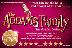 Joanne Clifton to star as Morticia Addams in The Addams Family, A Musical Comedy