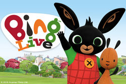 Minor Entertainment presents the CBeebies favourite on stage in Bing Live!