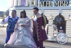 It's snow joke! Christmas comes early to the Alhambra Theatre as Billy Pearce, Coleen Nolan and Shane Nolan launch this year's must-see Alhambra Theatre pantomime, Cinderella!