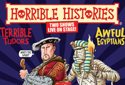 Horrible Histories celebrates 25 years of foul facts with a visit to Bradford