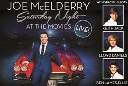 JOE McELDERRY BACK IN BRADFORD WITH 'SATURDAY NIGHT AT THE MOVIES' LIVE CONCERT