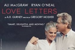 Ali MacGraw & Ryan O'Neal to star in UK Tour of LOVE LETTERS, coming to the Alhambra Theatre in September 2017