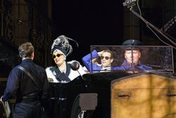 Sunset Boulevard Starring Ria Jones as 'Norma Desmond' and Danny Mac as 'Joe Gillis'