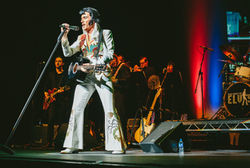 ONE NIGHT OF ELVIS starring LEE MEMPHIS KING - The Vegas Years 1969-77