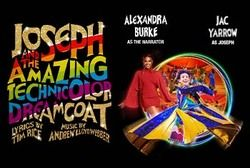 The acclaimed new London palladium production of  Joseph and the Amazing Technicolor Dreamcoat comes to the Alhambra Theatre, Bradford for one week only