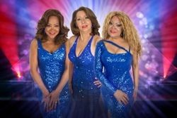 The Three Degrees in concert at King's Hall, Ilkley