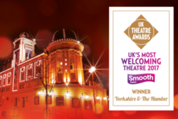 WINNERS ANNOUNCED FOR UK'S MOST WELCOMING THEATRE 2017