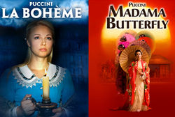 Two Operatic Masterpieces Puccini's La Bohème & Madama Butterfly