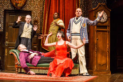 CAUSING FURTHER CHAOS NATIONWIDE - The Play That Goes Wrong is coming to the Alhambra Theatre, Bradford