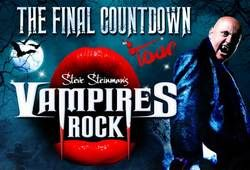 Steve Steinman gets the New Year off to an Explosive Start as Vampires Rock takes to the Stage at St George's Hall