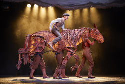 The National Theatre production of WAR HORSE 10th Anniversary UK Tour
