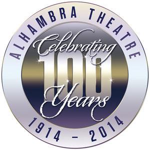 Alhambra Theatre celebrating 100 years 1914 – 2014 logo