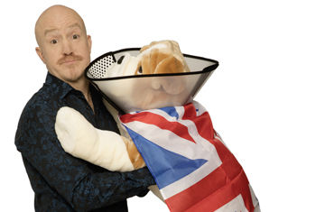 Andy Parsons returns to King's Hall, Ilkley on Thursday 5 March with his new show HEALING THE NATION