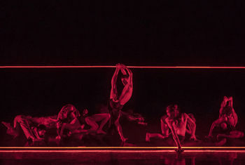 Rambert Dance Company returns to the Alhambra Theatre, Bradford performing a triple bill