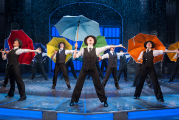 Singin' in the Rain is stopping off at the Alhambra Theatre, Bradford in July 2022!