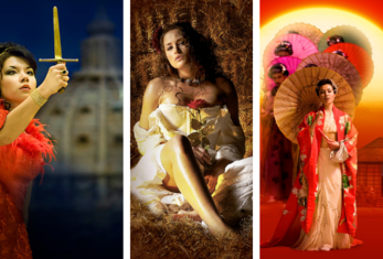 Senbla presents Opera International's award winning Ellen Kent Productions Tosca, Carmen and Madama Butterfly