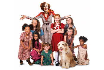 Anita Dobson will star as 'Miss Hannigan' in smash hit musical ANNIE coming to the Alhambra Theatre in 2019