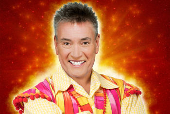 BILLY'S BACK IN HIS 20TH ALHAMBRA THEATRE PANTOMIME, ALADDIN!