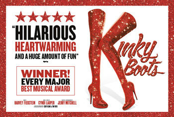 KINKY BOOTS, LONDON'S SMASH HIT AND THE WINNER OF EVERY MAJOR BEST MUSICAL AWARD, TO COME TO BRADFORD IN AUTUMN 2019