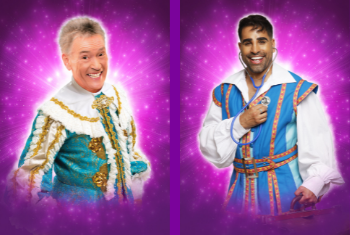 Sleeping Beauty is in safe hands this Christmas as Dr Ranj joins Billy Pearce in the cast of Alhambra Theatre's pantomime
