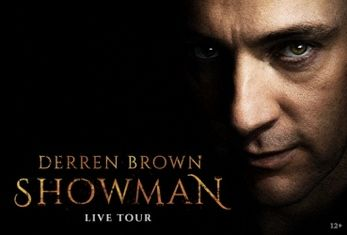 DERREN BROWN RETURNS TO THE STAGE WITH HIS BRAND-NEW LIVE SHOW!