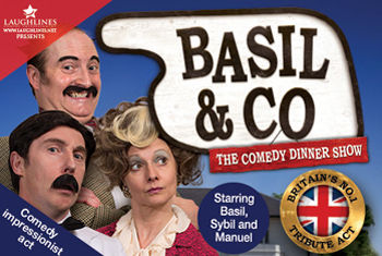 Basil & Co and Del Boy come to Restaurant 1914