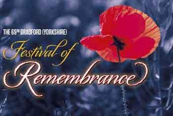 Duncan Preston to host the 69th Bradford (Yorkshire) Festival of Remembrance