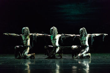 Rambert brings Christopher Bruce's iconic Ghost Dances to Bradford as part of a dynamic triple bill