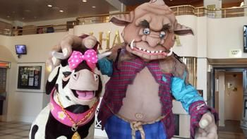 Alhambra Theatre in Bradford  Prepares for Giant Pantomime Season