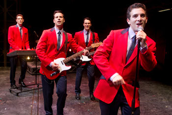 SMASH HIT WEST END AND BROADWAY MUSICAL JERSEY BOYS