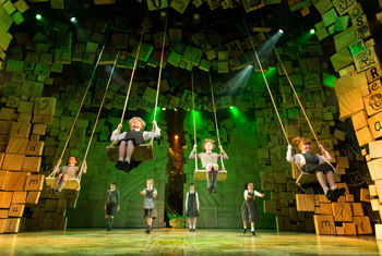 MATILDA THE MUSICAL will visit the ALHAMBRA THEATRE, BRADFORD