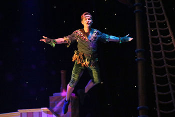 PETER PAN PANTOMIME AT THE ALHAMBRA THEATRE, BRADFORD OPENS TO PACKED HOUSES!