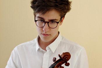 Award-winning violinist Roberto Ruisi performs at St George's Hall, Bradford Part of 32nd Chamber Season