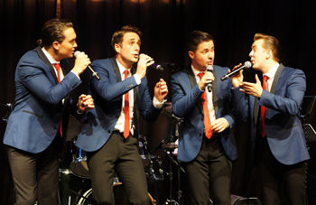The iconic sounds of Frankie Valli and The Four Seasons come to St George's Hall, Bradford