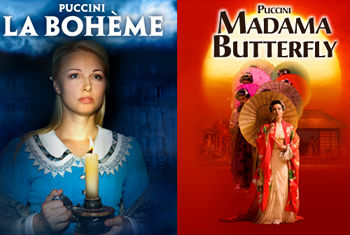 Two Operatic Masterpieces Puccini's La Bohème & Madama Butterfly