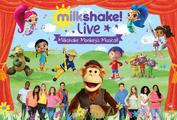 Milkshake! Monkey's Musical coming to St George's Hall in March