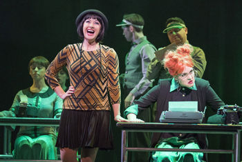 Thoroughly Modern Millie at the Alhambra Theatre, Bradford this June starring Hayley Tamaddon