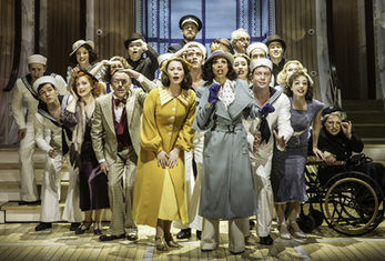 Cole Porter's Sensational Musical Comedy ANYTHING GOES sails into the Alhambra Theatre