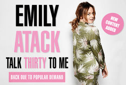 Photo for Emily Atack - Talk Thirty to Me