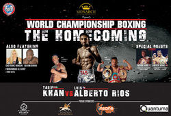 Photo for World Championship Boxing - The Homecoming