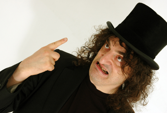 Image of Jerry Sadowitz: Comedian, Magician, Psychopath! 2016